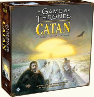 Коробка гри Настільна гра A Game of Thrones. Catan: Brotherhood of the Watch